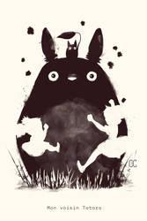 My neighboor Totoro by CookiesOChocola