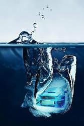 Subie on Ice by Sniggle-Fricks