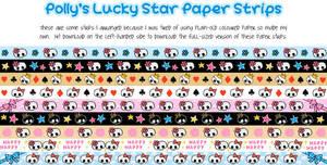 Lucky Star Paper - Skull Love by blackheartqueen