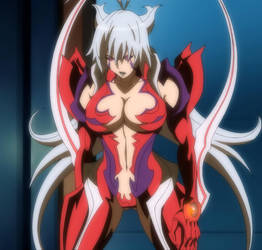 Masane Amaha Ultimate Form (Tired) Screenshot by Apostle-of-Dawn