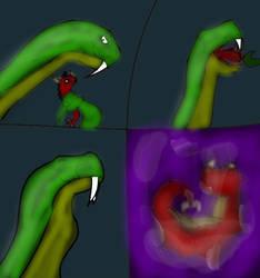 Friendly snake by mrsvorxhgf