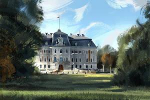 Pszczyna Palace by MDanecka