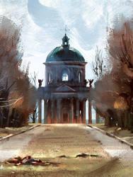 The Church by MDanecka