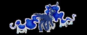 Princess Luna by Kitten-in-the-jar