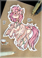 Summer Hibiscus by Kitten-in-the-jar