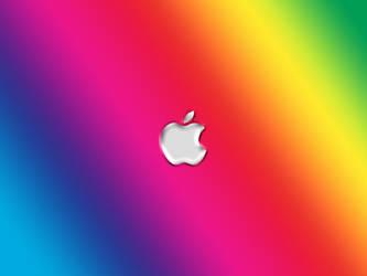 Colorful Apple by xulfikar