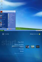 Transform Windows XP to Windows XP MCE 2005 by xulfikar