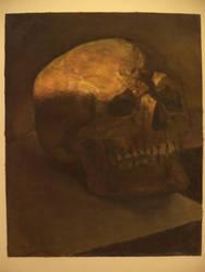 Skull study by Parmjeet-Johal
