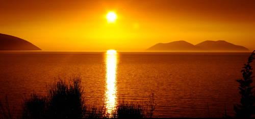 Sazani on Sunset by kadet13