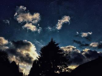 Night Sky by kadet13