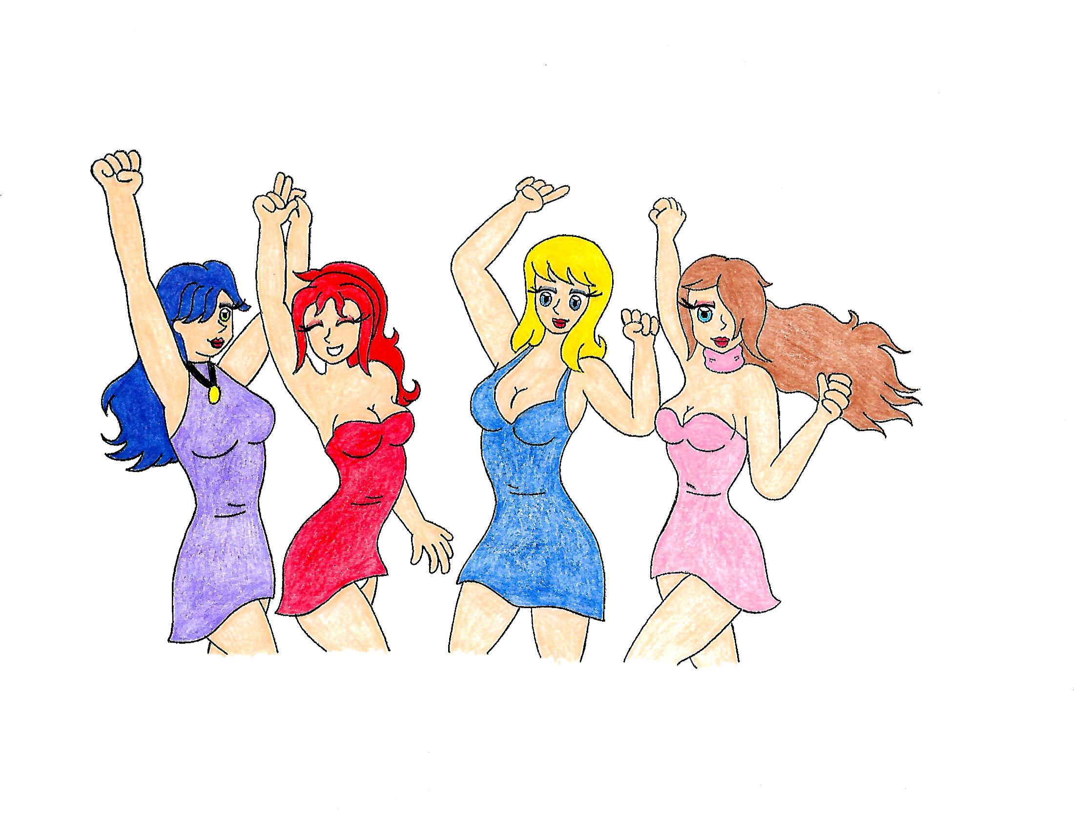 Girls Just Wanna... by Parasyte123