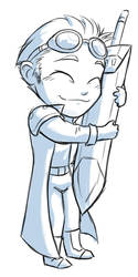 Gaius Wuvs His Sword by evion