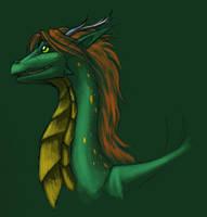 Tanis Dragon Design by evion