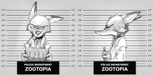 Zistopia - Nick Wilde by TheWyvernsWeaver