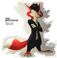 Sunderance - Character Profile: John Worthington by TheWyvernsWeaver