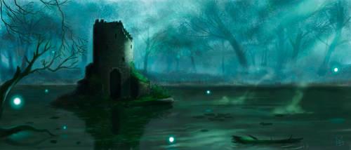 Marsh tower by MatBirdie