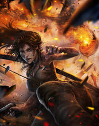 Tomb Raider: Will of Fire by spirapride