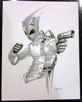 Rocketeer WonderCon 2012 commission by aposcar