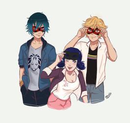 Trio by wallOruss