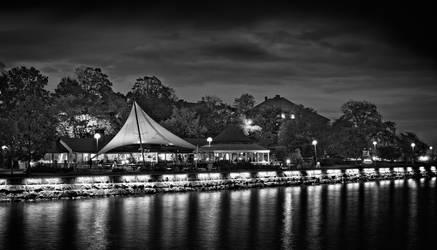 Night Landscape by BiggDaddy
