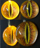 4cm 3D Sauron Eyes by DreamVisionCreations