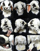 Dwarf Lop Bunny Mask SOLD by DreamVisionCreations
