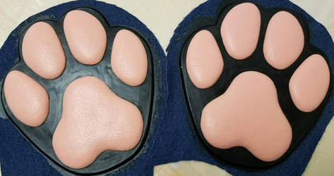 Stompy K9 Feetpads by DreamVisionCreations