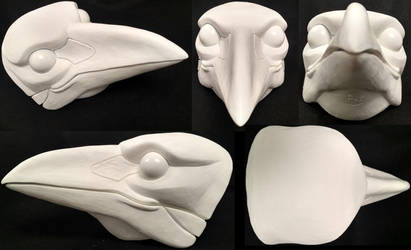 Corvid Resin Blank by DreamVisionCreations