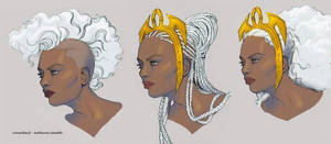 Some Ororo Hairs by catchingspiders