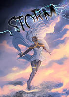 Ororo the STORM by catchingspiders