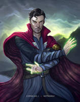 The Sorcerer Supreme by catchingspiders