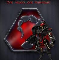 Nod, cyborg commando by CavalierNoir22