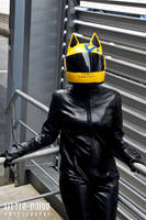 Celty - The Headless Rider by roseandblossom
