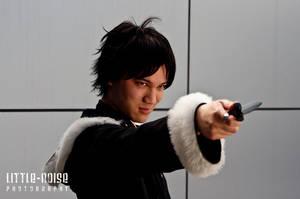 Izaya Orihara - Knifepoint by roseandblossom