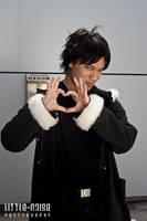 Izaya Orihara - I LOVE Humans by roseandblossom