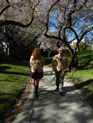 Chihayafuru - Under the Cherry Blossoms by roseandblossom