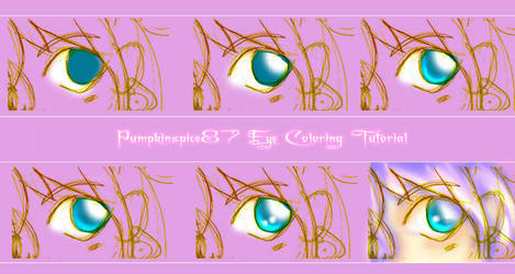 Coloring Eyes in Photoshop by PumpkinSpice87