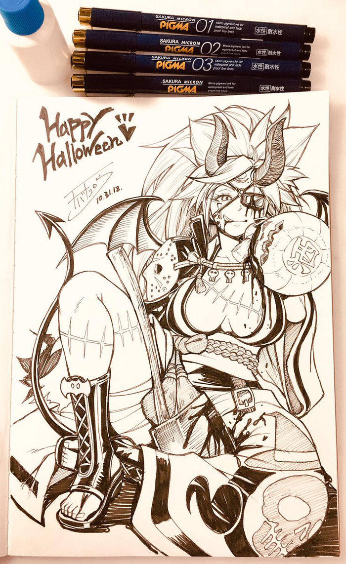 Happy Halloween by cva1046