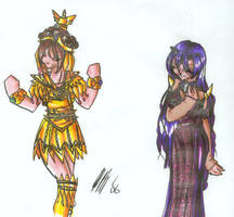 Otaku Senshi Sera Myu - Queens by shuu-bunni