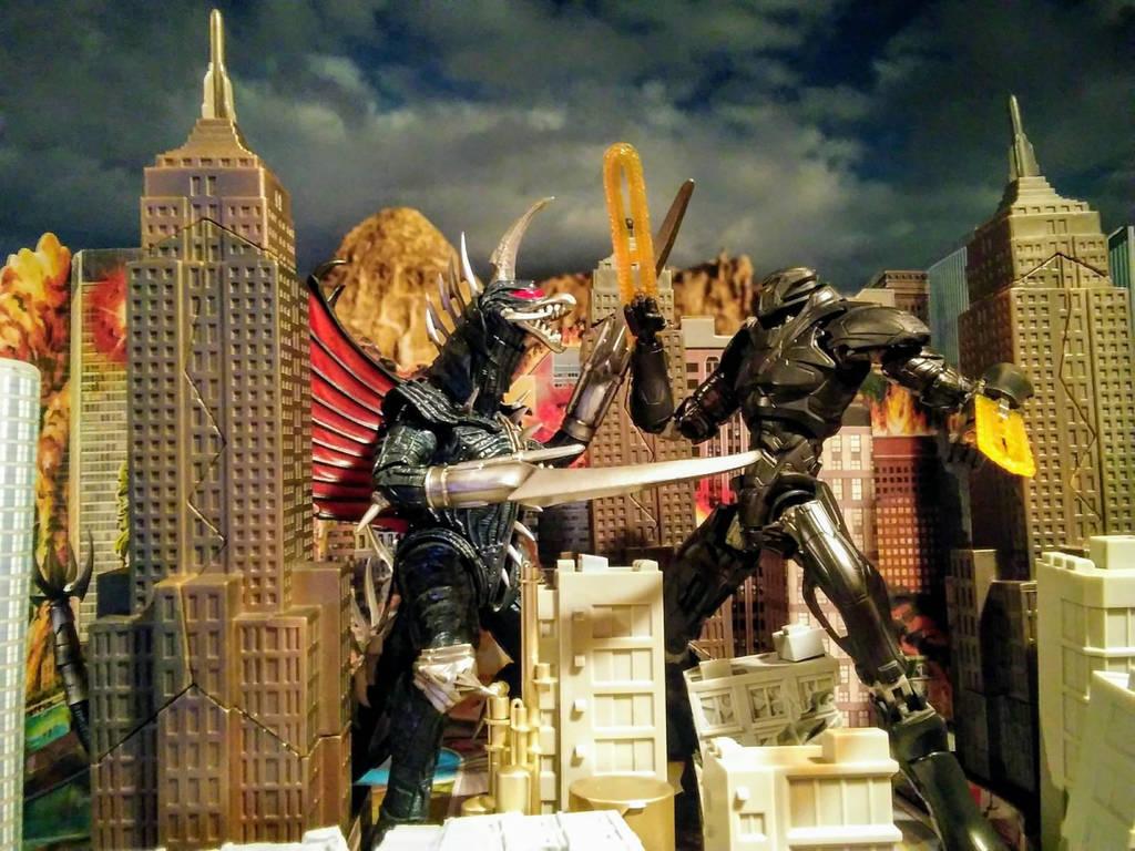 Gigan Vs Obsidian Fury By Kongzilla92 On Deviantart