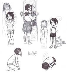 Hotaru and Yokai by AnimeMeg27
