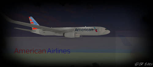 American Airlines Thumbnail Roblox By Xds7edits On Deviantart