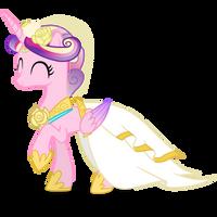 Happy Princess Cadance by 90Sigma