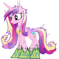 Princess Cadance Trapped in Goop by 90Sigma