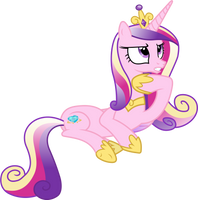Princess Cadance Thinking by 90Sigma