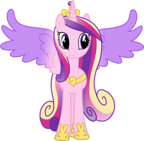 Princess Cadance Posing by 90Sigma