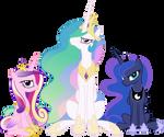 Cranky Princesses by 90Sigma