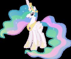 Happy Princess Celestia (4) by 90Sigma