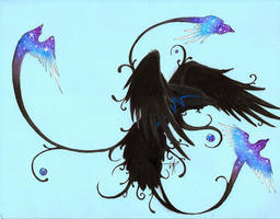 Raven Spirits by SpiritWolf517