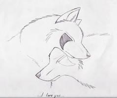 Wolf Love by SpiritWolf517